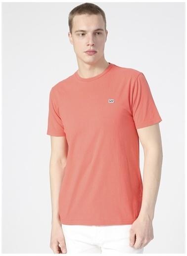 Lee Lee L60UFQQM_Logo T-shirt  Kırmızı